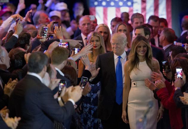 Melania et Donald Trump, à New York, en mai 2016.