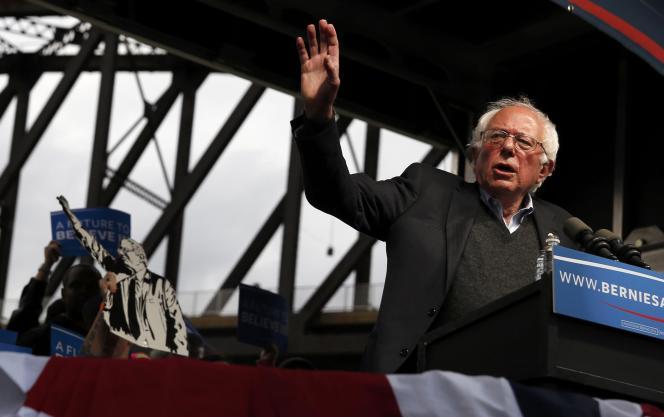 Le discours de Bernie Sanders pendant la primaire en Indiana le 3 mai.