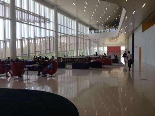 La bibliothèque de l'université d'Etat de Caroline du Nord, à Raleigh.