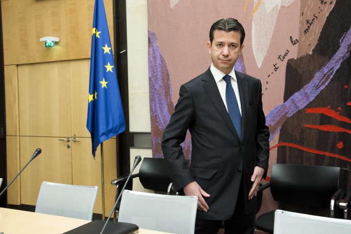 Thomas Piquemal, l'ancien directeur financier d'EDF, lors de son audition à l'Assemblée nationale, le 4mai.