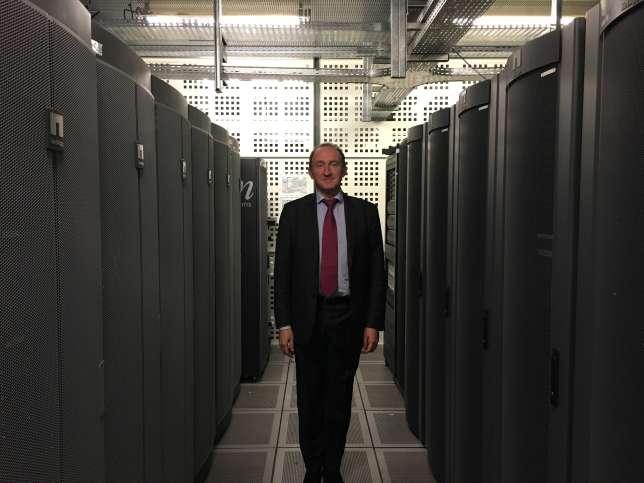 Arnaud Beaufort, directeur des services et réseaux de la BNF.