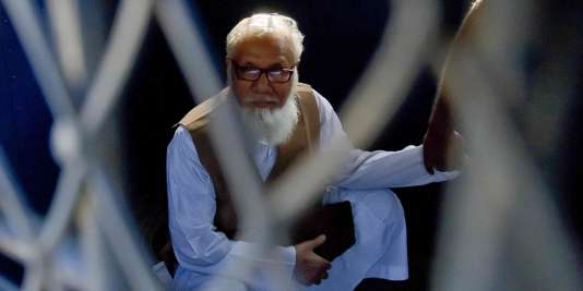 Motiur Rahman Nizami, le dirigeant du principal parti islamiste au Bangadlesh, le 29 octobre 2014.