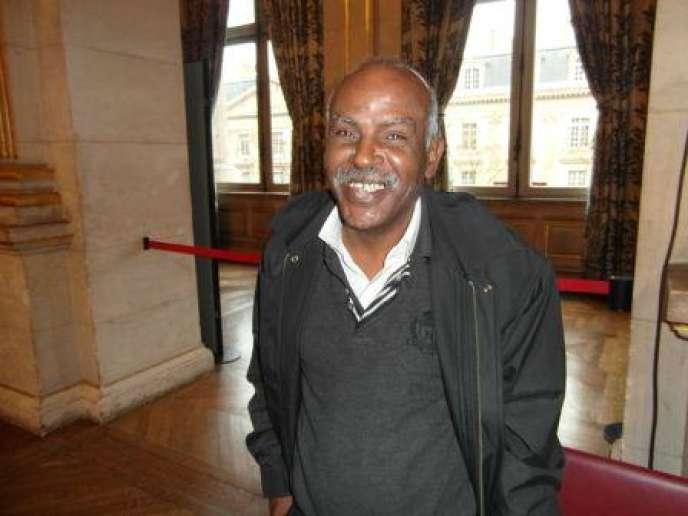 L'écrivain mauritanien Mbarek Beyrouk.