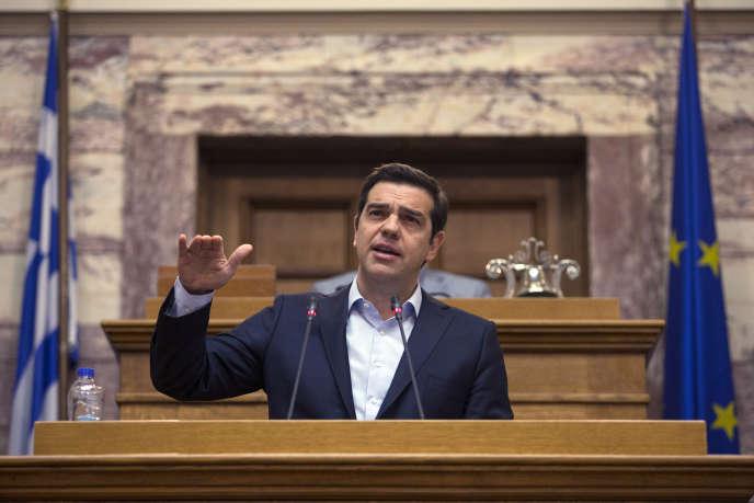 Le premier ministre grec, Alexis Tsipras, le 6 mai 2016, à Athènes.