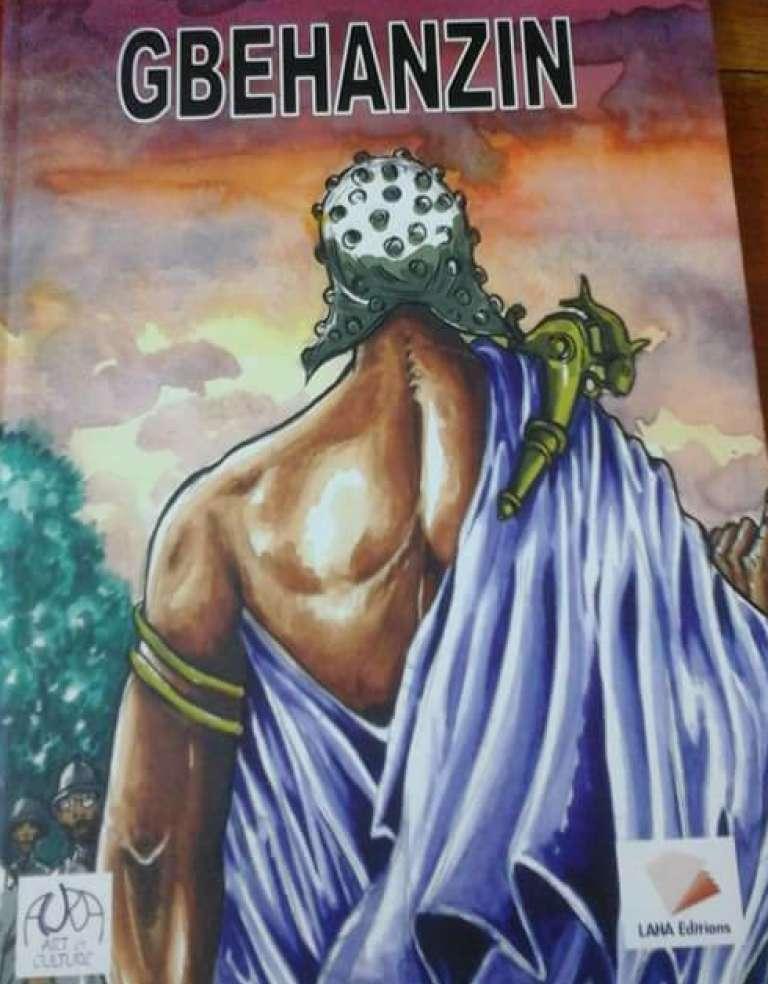 """La couverture de la BD """"Gbèhanzin"""", par Florent Couao-Zotti, Sonia Houénoudé Couao-Zotti et Constantin Adadja (Laha Editions)."""