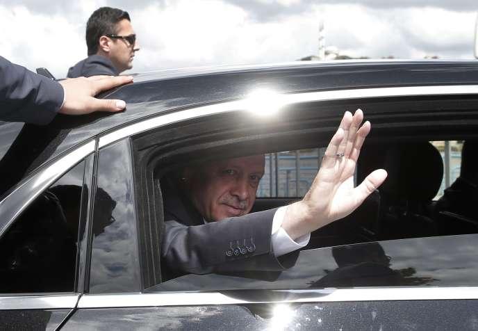 Recep Tayyip Erdogan à Istanbul le 6 mai 2016.