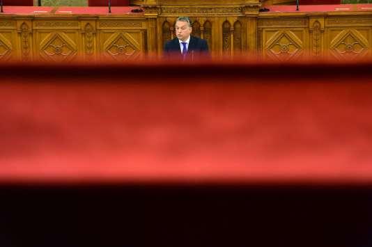 Le premier ministre hongrois, Viktor Orban, le 25 avril 2016.
