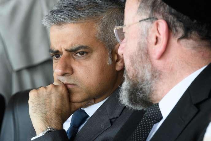 Le maire de Londres Sadiq Khan à Londres le 8 mai 2016.