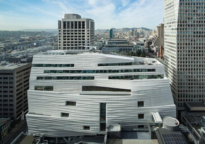 L'extension du San Francisco Museum of Modern Art (SFMOMA).