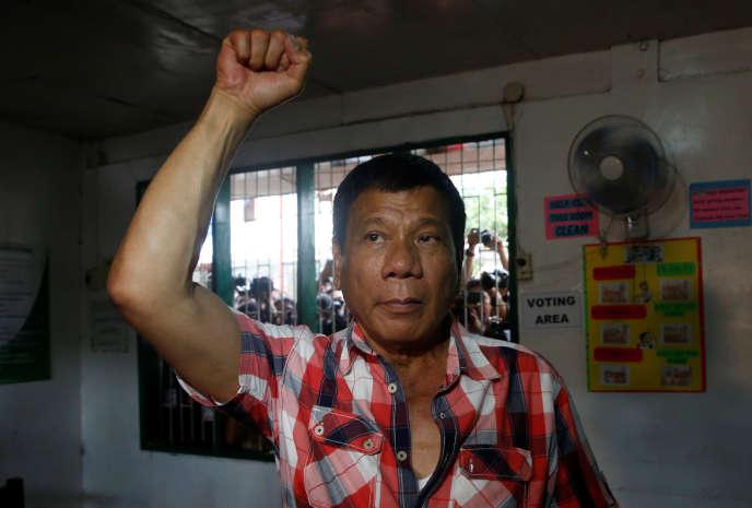 Rodrigo Duterte a remporté le 9 mai l'élection présidentielle aux Philippines.