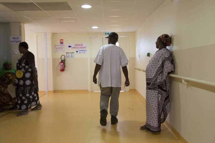 Dans la maternité du centre hospitalier de Mamoudzou, àMayotte en mars 2014.