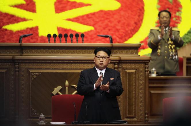 Kim Jong-un, le 9mai.