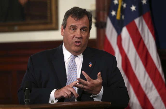 Le gouverneur du New Jersey, Chris Christie.