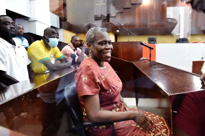 Simone Gbagbo, le 9 mai 2016 à Abidjan.