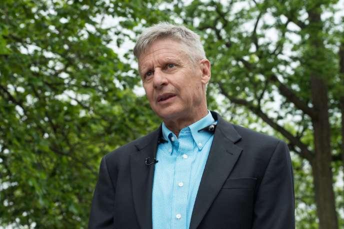 «Je suis le candidat tout-en-un», explique Gary Johnson. Mais son problème est qu'il n'apparaît pas dans les sondages.