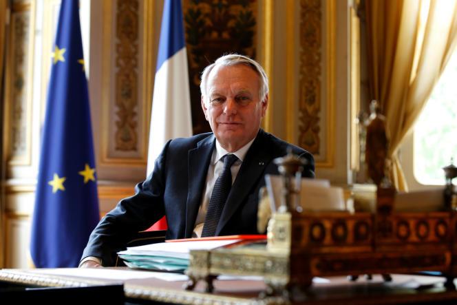 Jean-Marc Ayrault, ministre des affaires étrangères, en avril 2016.