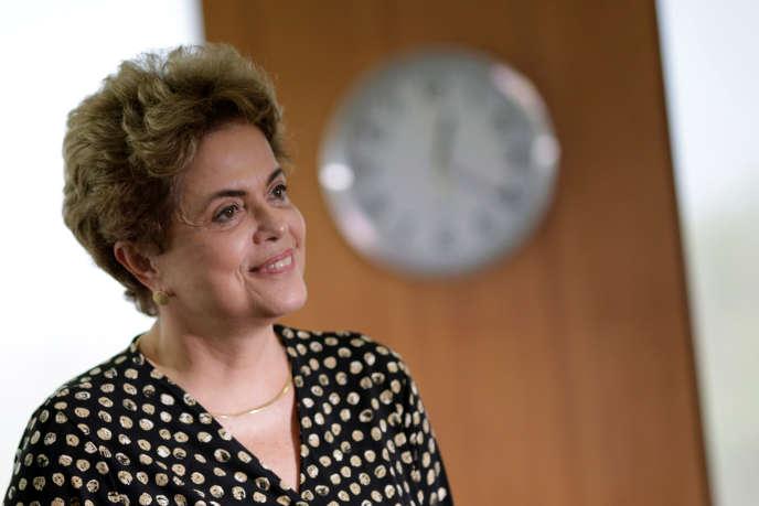 Dilma Rouseff, le 10 mai à Brasilia.