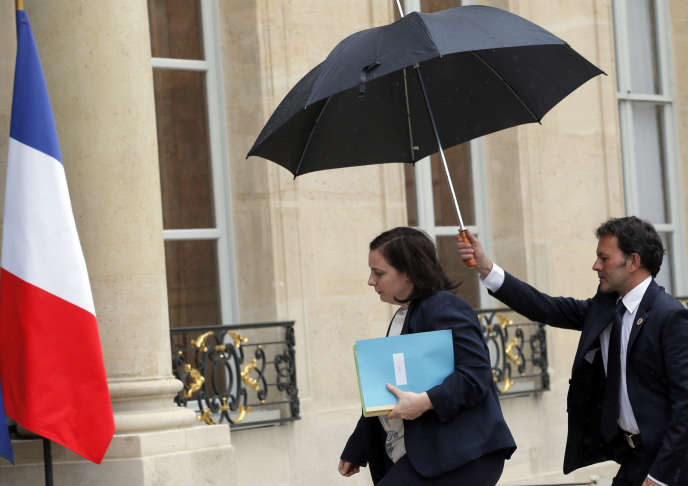 Emmanuelle Cosse à l'Elysée, le 10 mai.