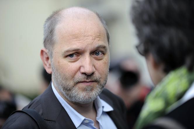 Denis Baupin lors du congrès d'Europe Ecologie Les Verts(EELV), à Nantes,le 18 septembre 2012.