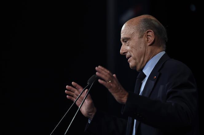 Le maire de Bordeaux, Alain Juppé.