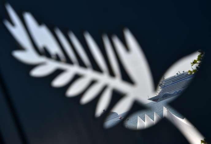 La célèbre Palme d'or, emblème du Festival de Cannes.