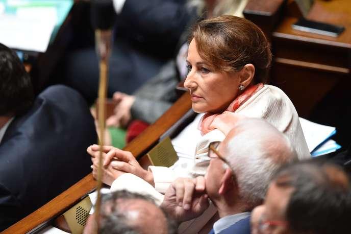 La ministre de l'environnementSégolène Royal, à l'assemblée nationale, à Paris, mardi 10 mai.