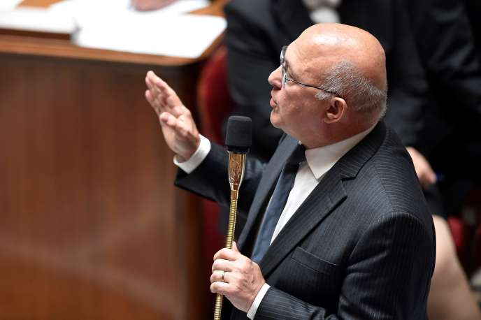Michel Sapin, ministre des finances, à l'Assemblée nationale, le 10 mai.