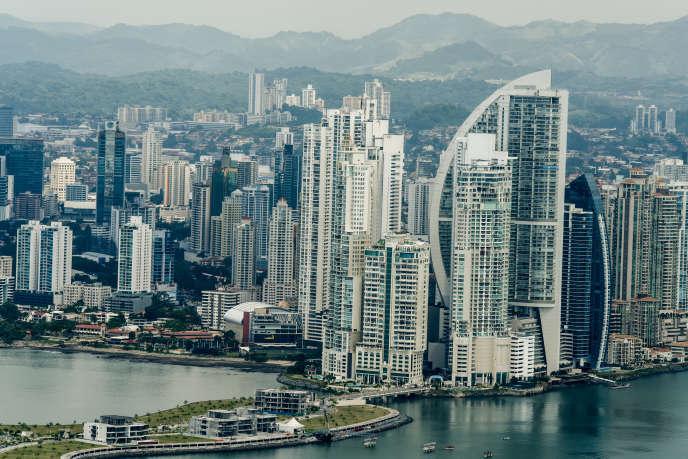 Vue aérienne de la ville de Panama.