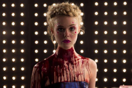 Elle Fanning, dans« The Neon Demon», de Nicolas Winding Refn.