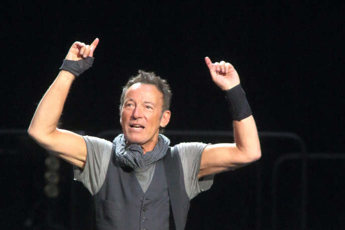 Bruce Springsteen en concert à Baltimore, le 20 avril 2016.