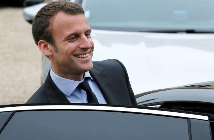 Emmanuel Macron le 11 mai à l'Elysée.