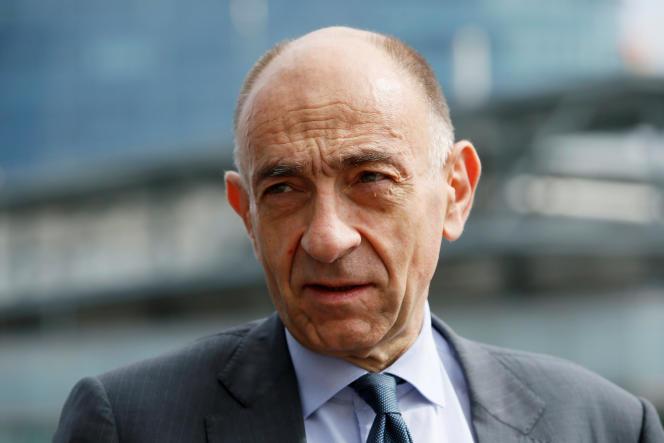 Jean Marc Janaillac, le 9 mai. A la tête de la compagnie, il devra faire face aux menaces de grève du personnel et aux divisions au sein du conseil d'administration