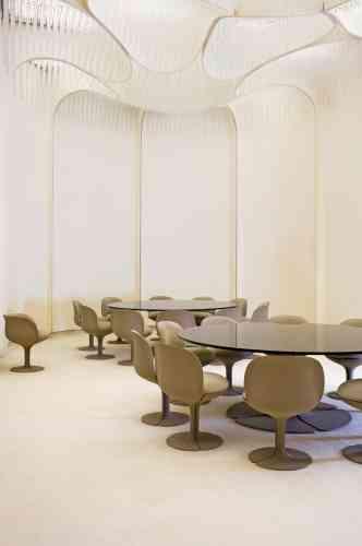 ... et par l'aménagement des appartements privés du couple Pompidou, au Palais de l'Elysée à partir de 1969.