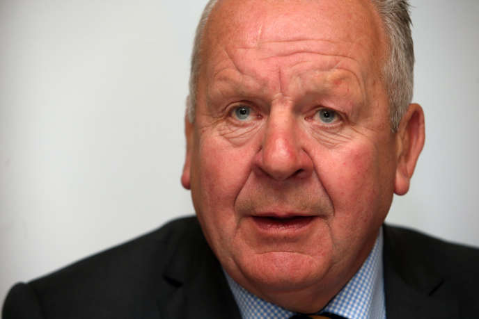 Bill Beaumont, à Dublin, le 11 mai.