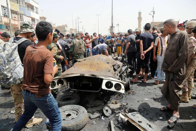 L'attentat meurtrier du 11 mai 2016 a eu lieu dans le quartier Sadr City à Bagdad.