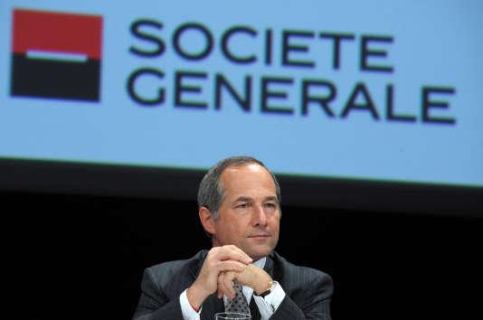 Le directeur général de la Société générale Frédéric Oudéa en 2013.