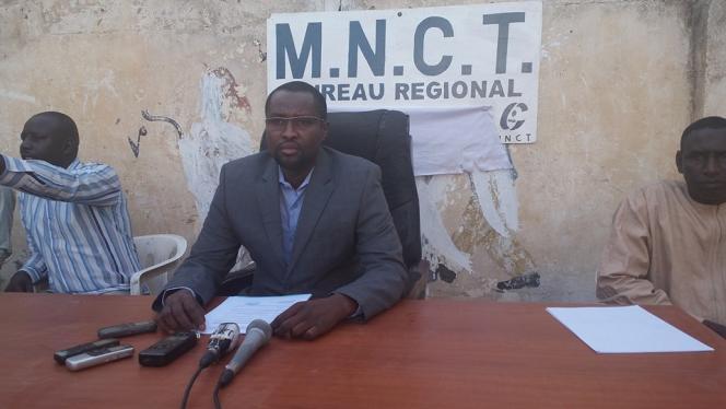 L'opposant tchadienMahamat Ahmat Lazina.