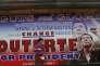Affiche de campagne deRodrigo Dutertepour l'élection présidentiellephilippine, sur un boulevard de Davao, le 11 mai.