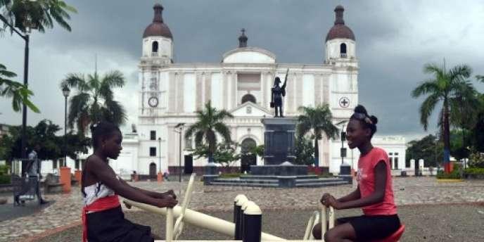 A Cap-Haïtien, dans le nord d'Haïti, le 6 mai.