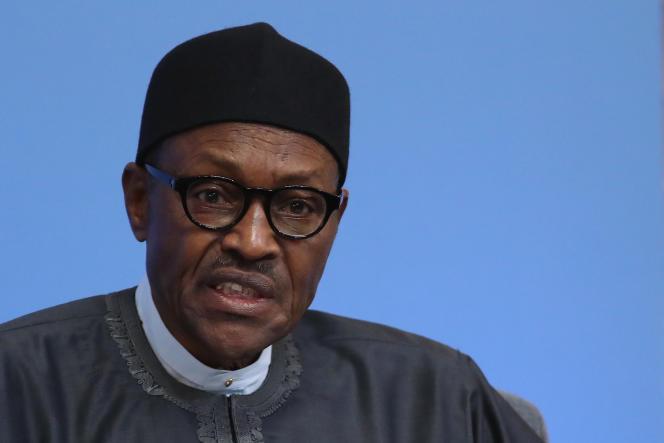 Muhammadu Buhari, le président du Nigeria, le 12 mai 2016.