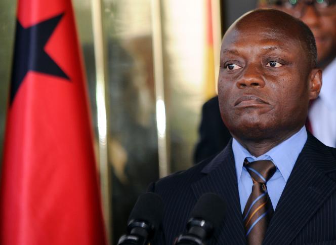 Le président de Guinée-Bissau, José Mario Vaz, en juin 2014.