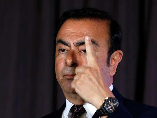 Carlos Ghosn, le patron de Renault-Nissan, le 12 mai 2016, au Japon.