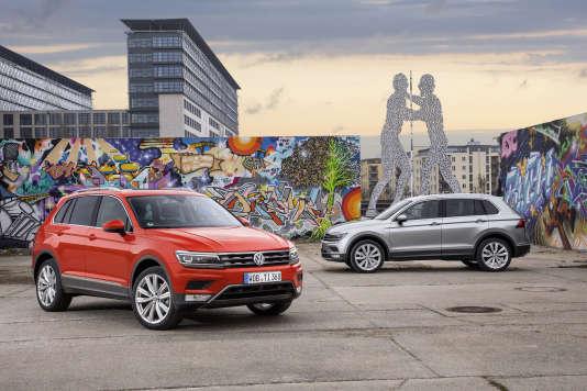 Le Tiguan de Volkswagen respire un luxe inattendu.