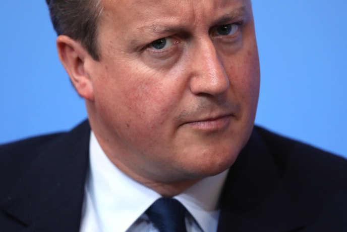 Le premier ministre de Grande-Bretagne, Damid Cameron, à propos duquel Donald Trump a déclaré : « Il semble que nous n'allons pas avoir une très bonne relation. Qui sait. J'espère avoir une bonne relation avec lui mais il semble qu'il n'ait pas envie de régler le problème. »