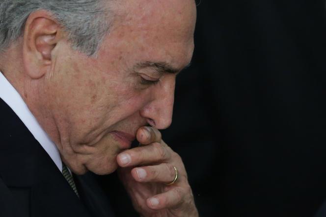 Michel Temer, président par interim du Brésil.