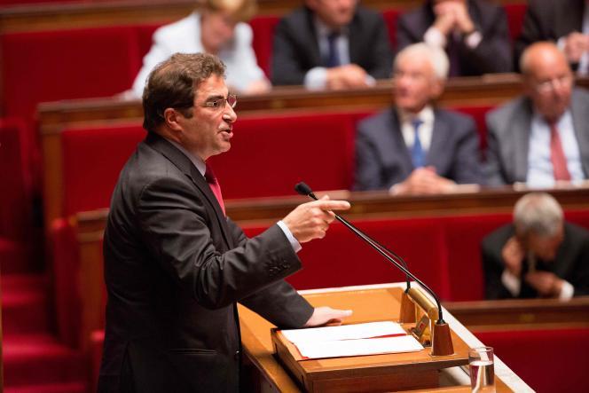 Le chef de file des députés Les Républicains, Christian Jacob, le 12 mai.