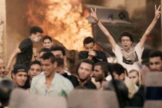 Une scène du film égyptien de Mohamed Diab,« Clash».
