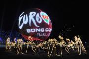 La salle où s'est déroulé l'Eurovision en 2012.