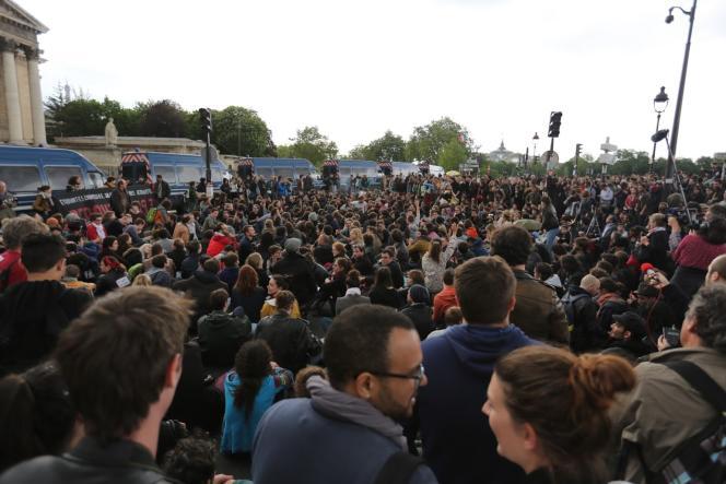 Manifestation du 13 mai à Paris.