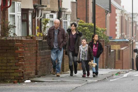 Dave Johns et Hayley Squires dans le film britannique de Ken Loach,« Moi, Daniel Blake».